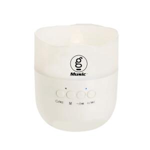 GMUSIC Candle Light Bluetooth Speaker