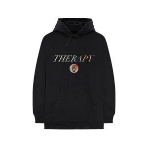 Therapy Tie-Dye Logo Pullover Hoodie