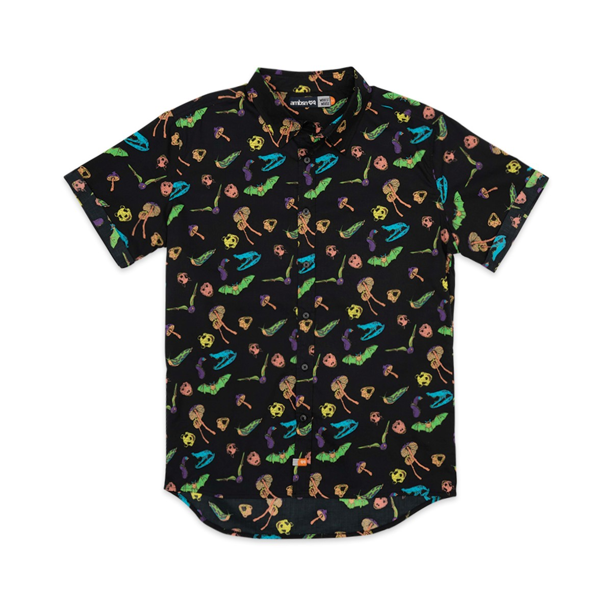 Critters Woven Button Up