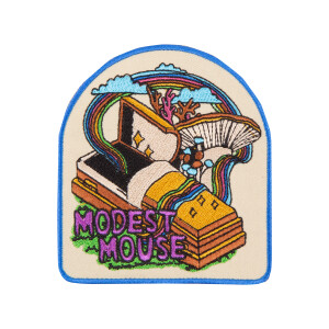 Casket Embroidered Patch