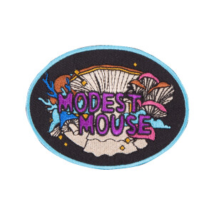 Mushrooms Embroidered Patch