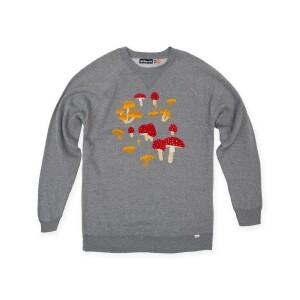 Mushroom Crewneck Sweatshirt (Heather)