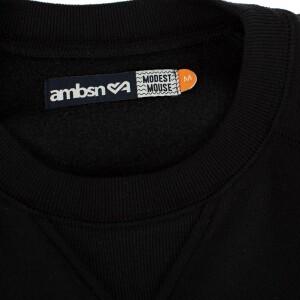 Mushroom Crewneck Sweatshirt (Black)