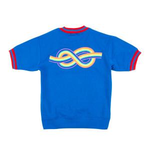 Rainbow Knot Sweatshirt (Blue)