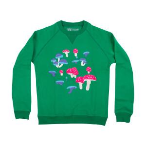 Mushroom Crewneck Sweatshirt (Green)