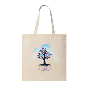 Etheridge Foundation Beige Natural Tote Bag