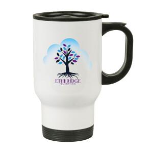 Etheridge Foundation White Travel Mug