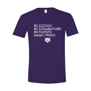 Mama's Choice Purple T-Shirt