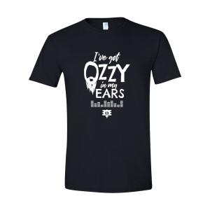 I've Got Bearded Ozzy in my Ears Black T-Shirt