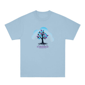 Etheridge Foundation Sky Blue T-Shirt