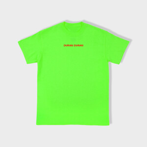 Duran Duran FUTURE PAST Green T-shirt