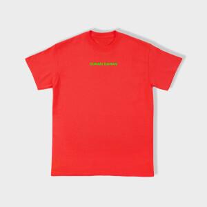 Duran Duran FUTURE PAST Red T-shirt