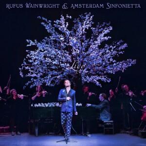 Rufus Wainwright and Amsterdam Sinfonetta Live Vinyl