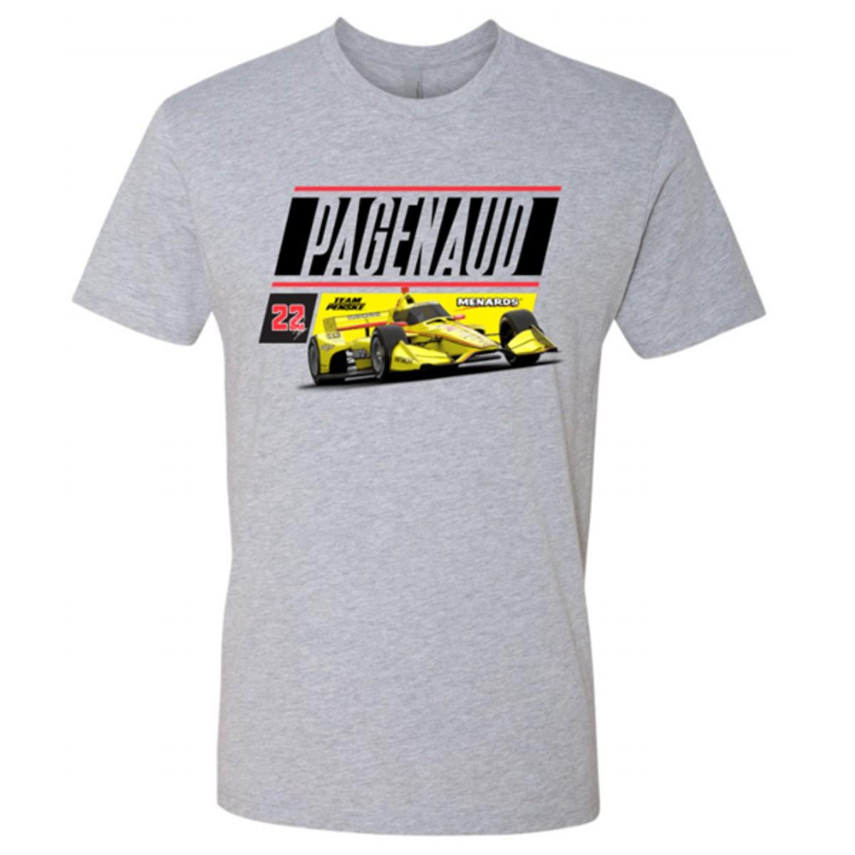 Simon Pagenaud Menards Car T-shirt