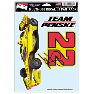 #22 Team Penske Multi-Use 3pc Decal Set
