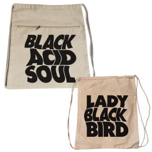 Lady Blackbird Burlap Backpack
