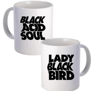 Lady Blackbird Black Acid Soul Mug