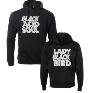 Lady Blackbird Black Acid Soul Black Hoodie