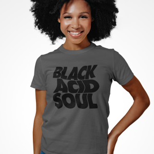 Lady Blackbird Black Acid Soul Retro Crop