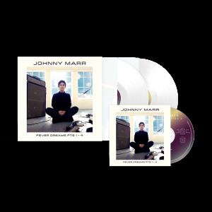 Fever Dreams Pts 1 - 4 CD + White Vinyl