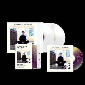 Fever Dreams Pts 1 - 4  CD + Cassette + White Vinyl