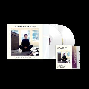 Fever Dreams Pts 1 - 4 White Vinyl + Cassette