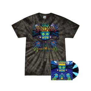Cornetto Vinyl + Tie Dye T-Shirt Bundle