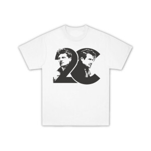 2CELLOS Dedicated Photo White T-Shirt