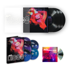 DISCO: GUEST LIST EDITION (DELUXE LIMITED) [3 CD, 1 DVD, 1 BLU-RAY] +TRIPLE VINYL+ A SECOND TO MIDNIGHT CD SINGLE BUNDLE