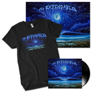 The Expendables Sand in the Sky Vinyl/T-Shirt/Poster Combo