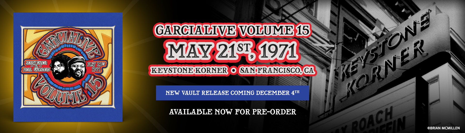 GarciaLive Volume 15: Now Available For Pre-Order