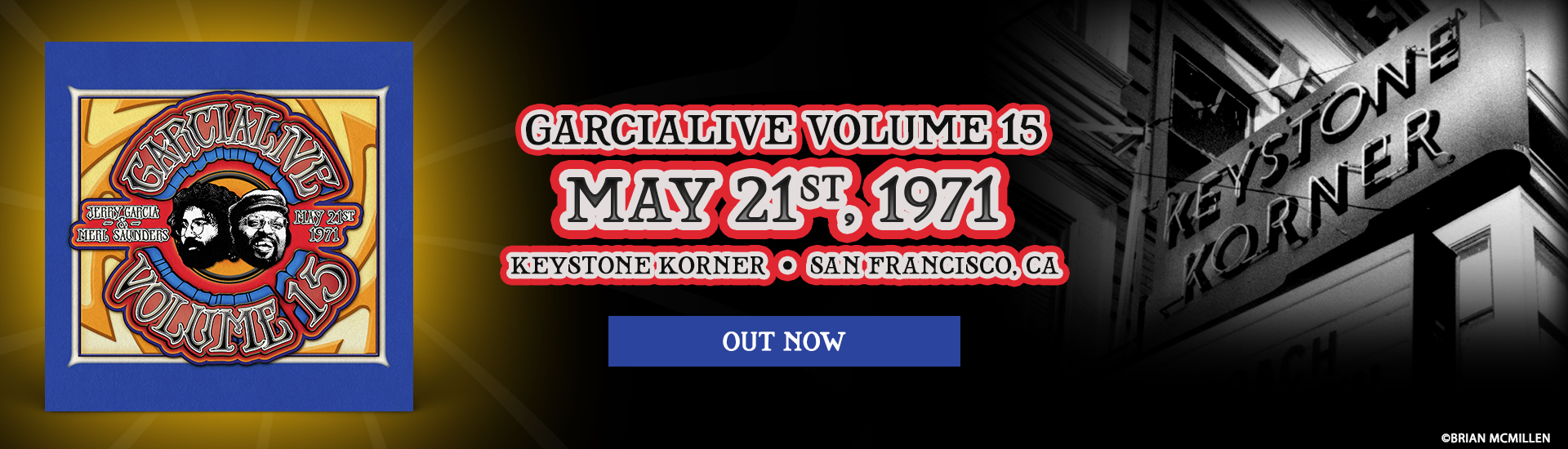 GarciaLive Volume 15 Out Now