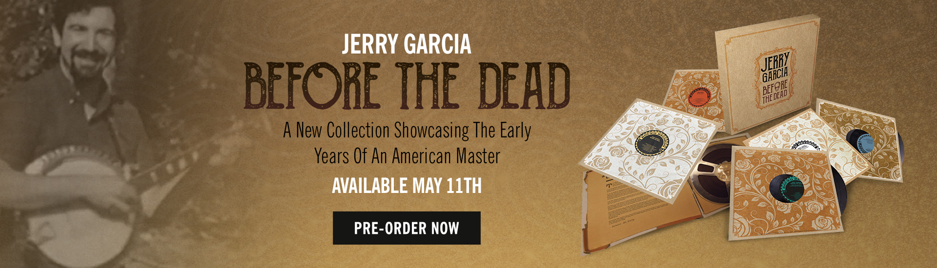 Jerry Garcia: Before The Dead- Pre-order today!