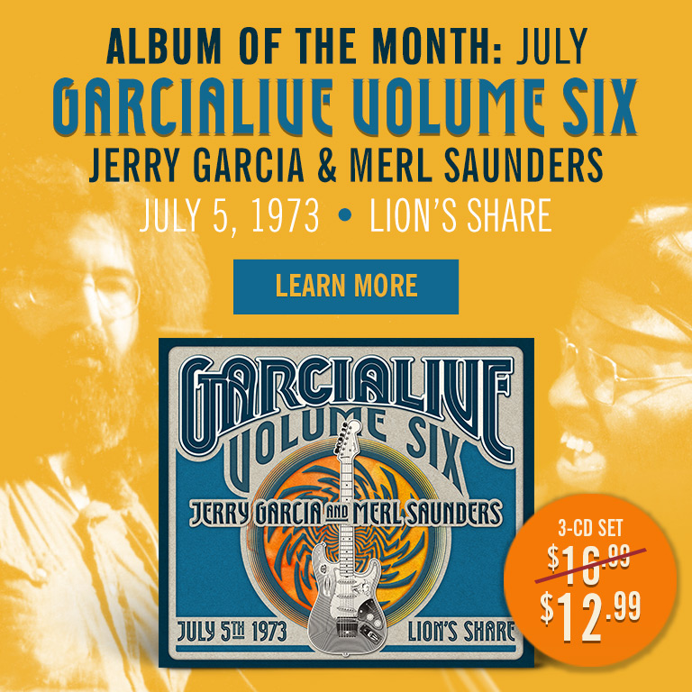 Album of the Month (July): GarciaLive Volume 6