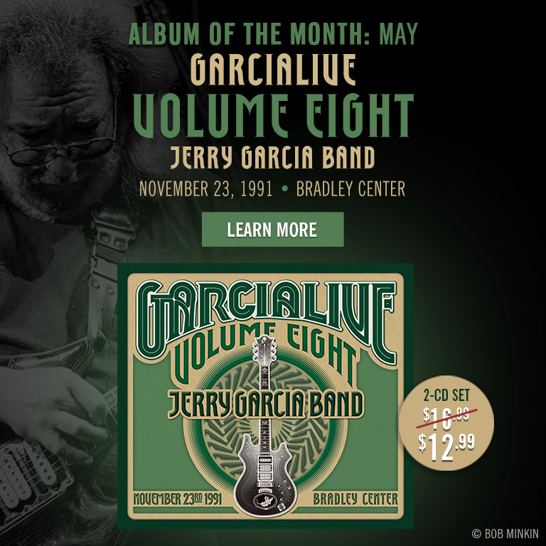 Album of the Month (May): GarciaLive Vol 8!