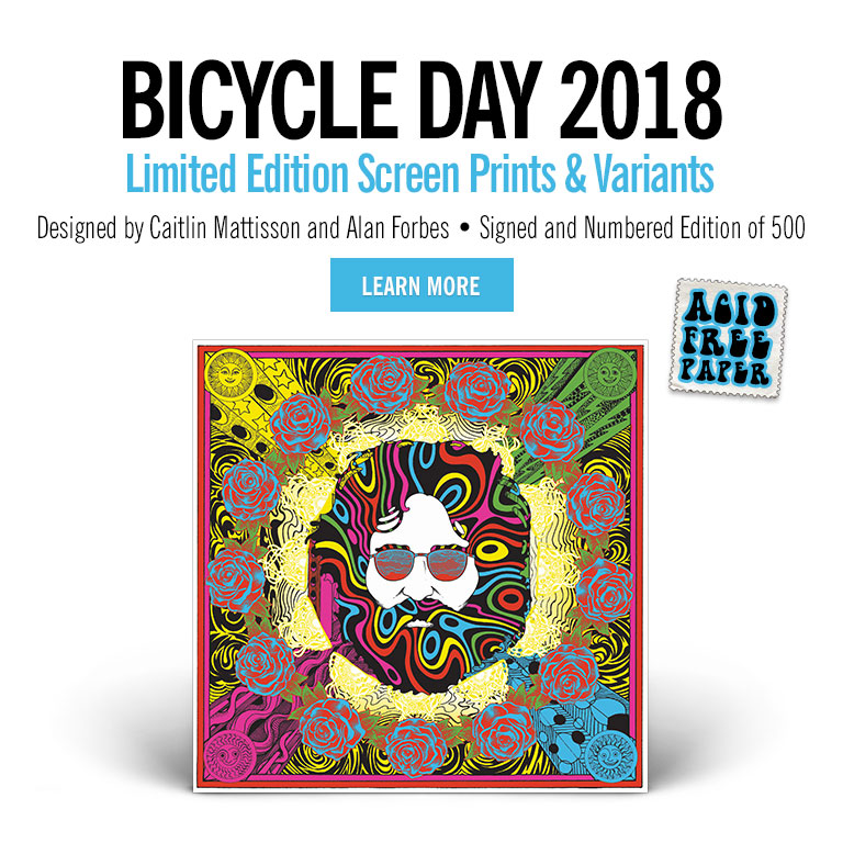 Bicycle Day Exclusive Posters