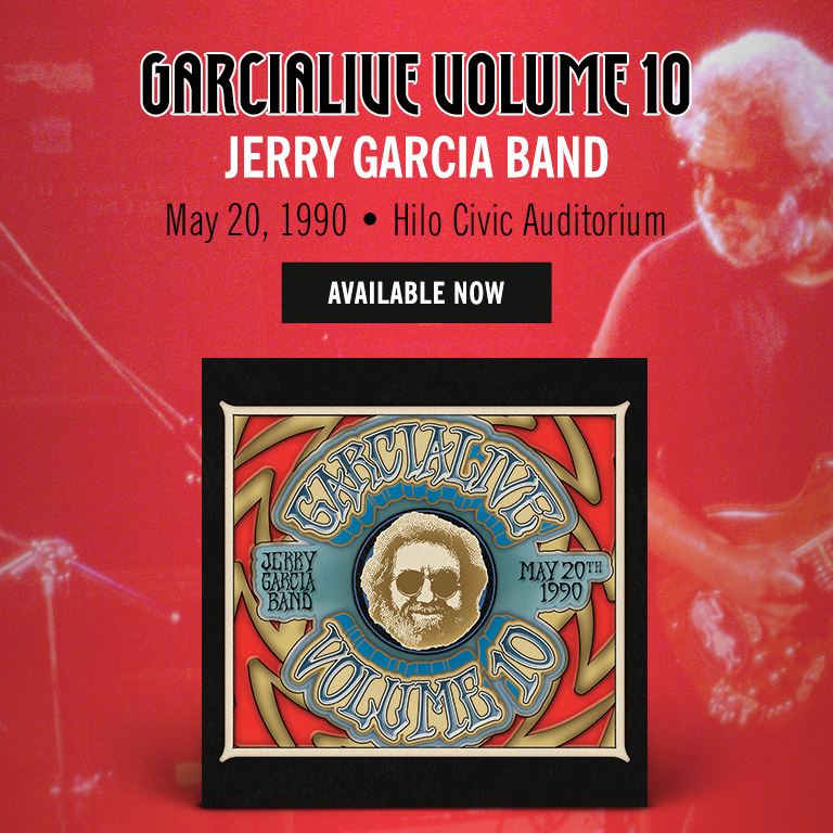 GarciaLive Vol 10 Available Now!