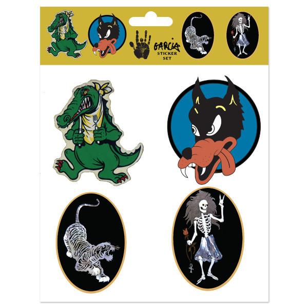 Jerry Garcia Guitar Sticker Pack Shop The Jerry Garcia Official Store