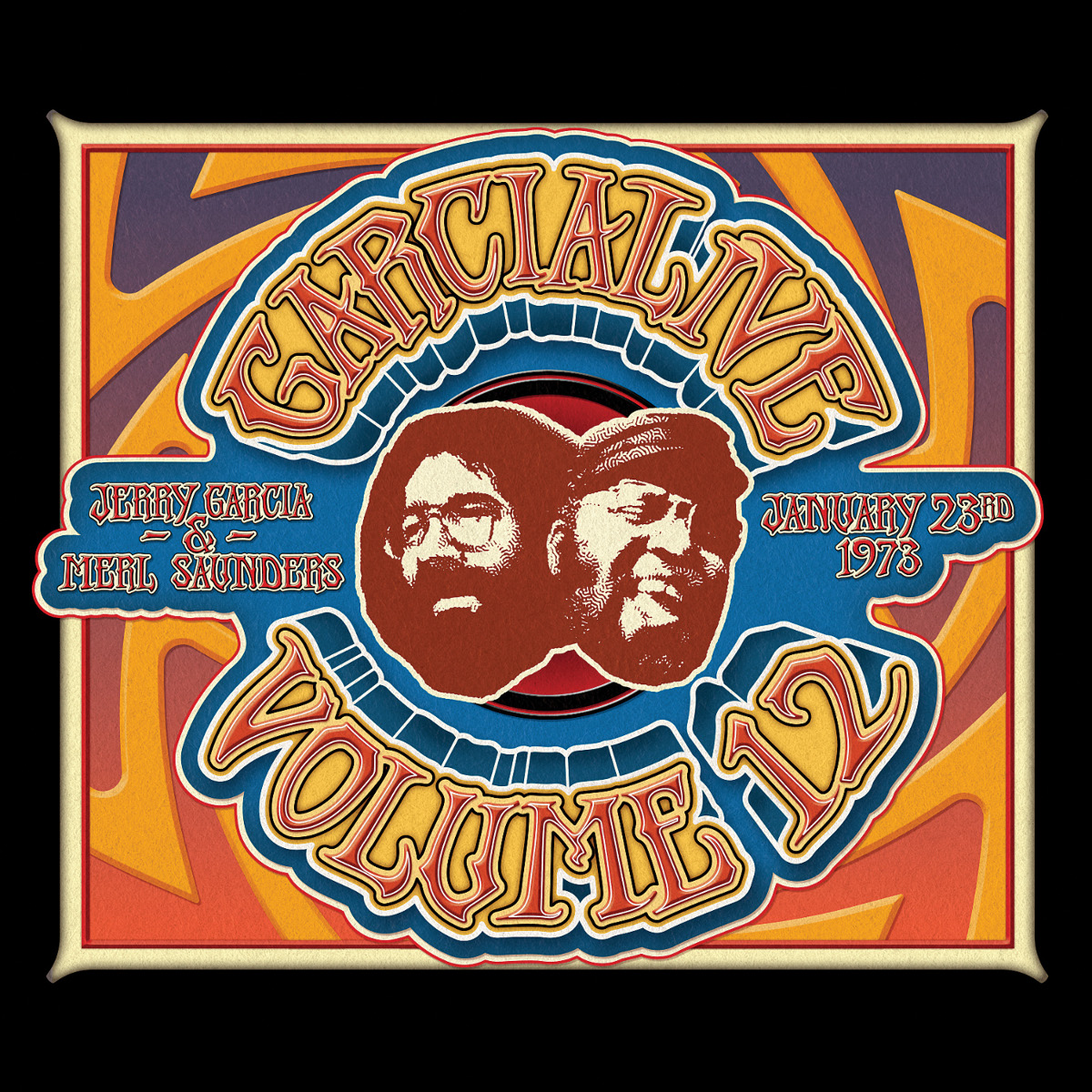 Jerry Garcia & Merl Saunders – GarciaLive Volume 12: 01/23/73 3-CD Set