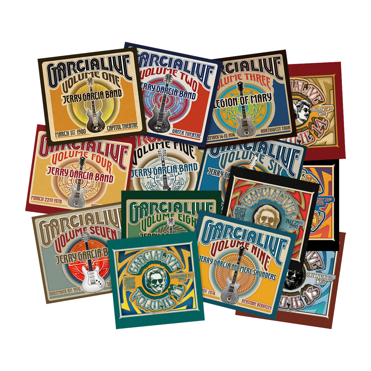 GarciaLive Vol. 1-9 Bundle