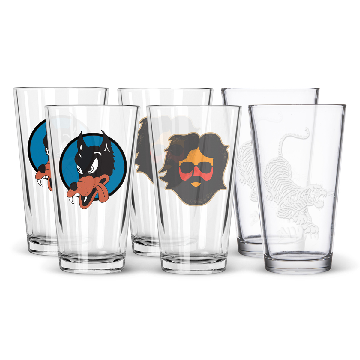 Pint Glass 6-Pack Bundle