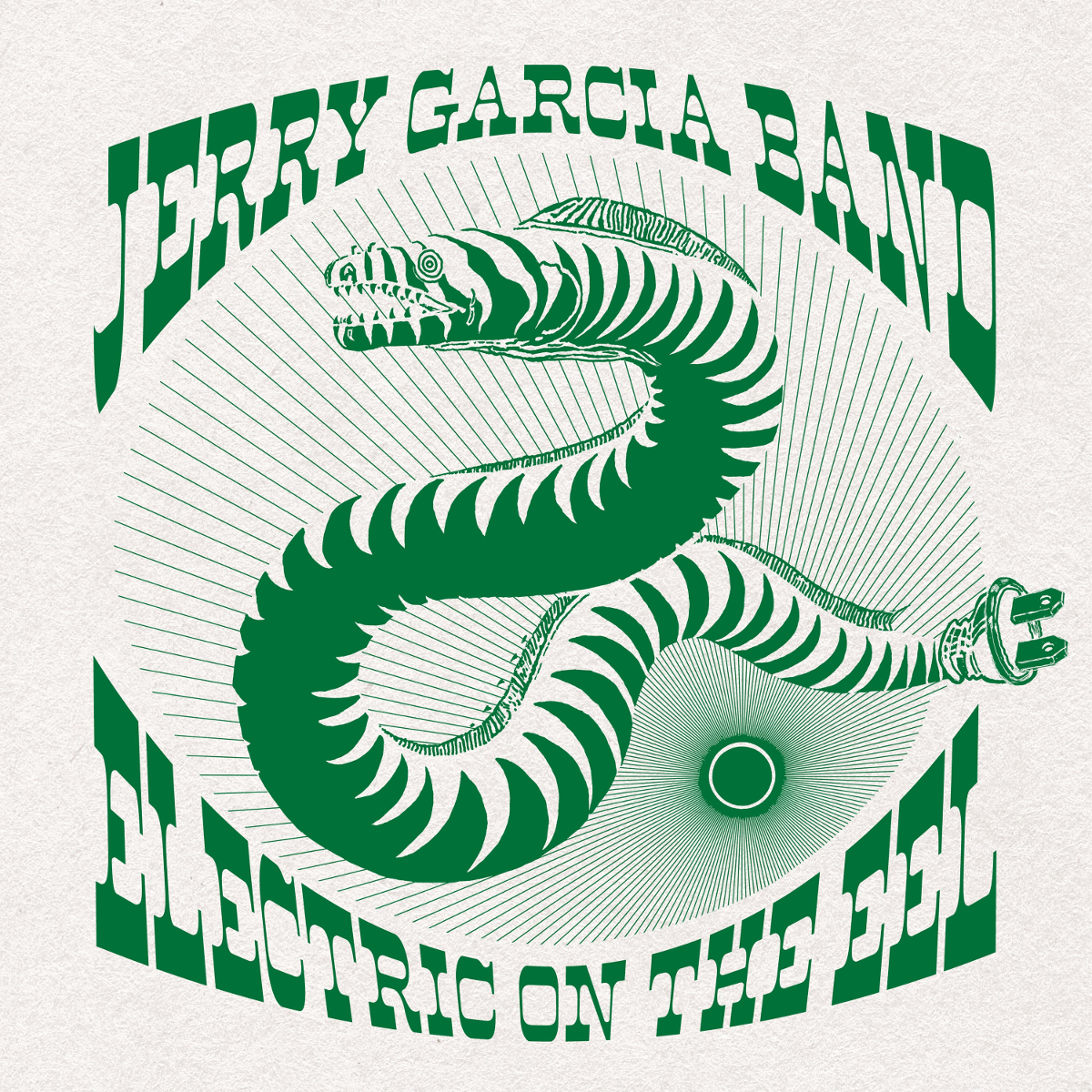 **SOLD OUT** Jerry Garcia Band - Electric on the Eel: CDs or Download, Poster & Organic T-Shirt Bundle