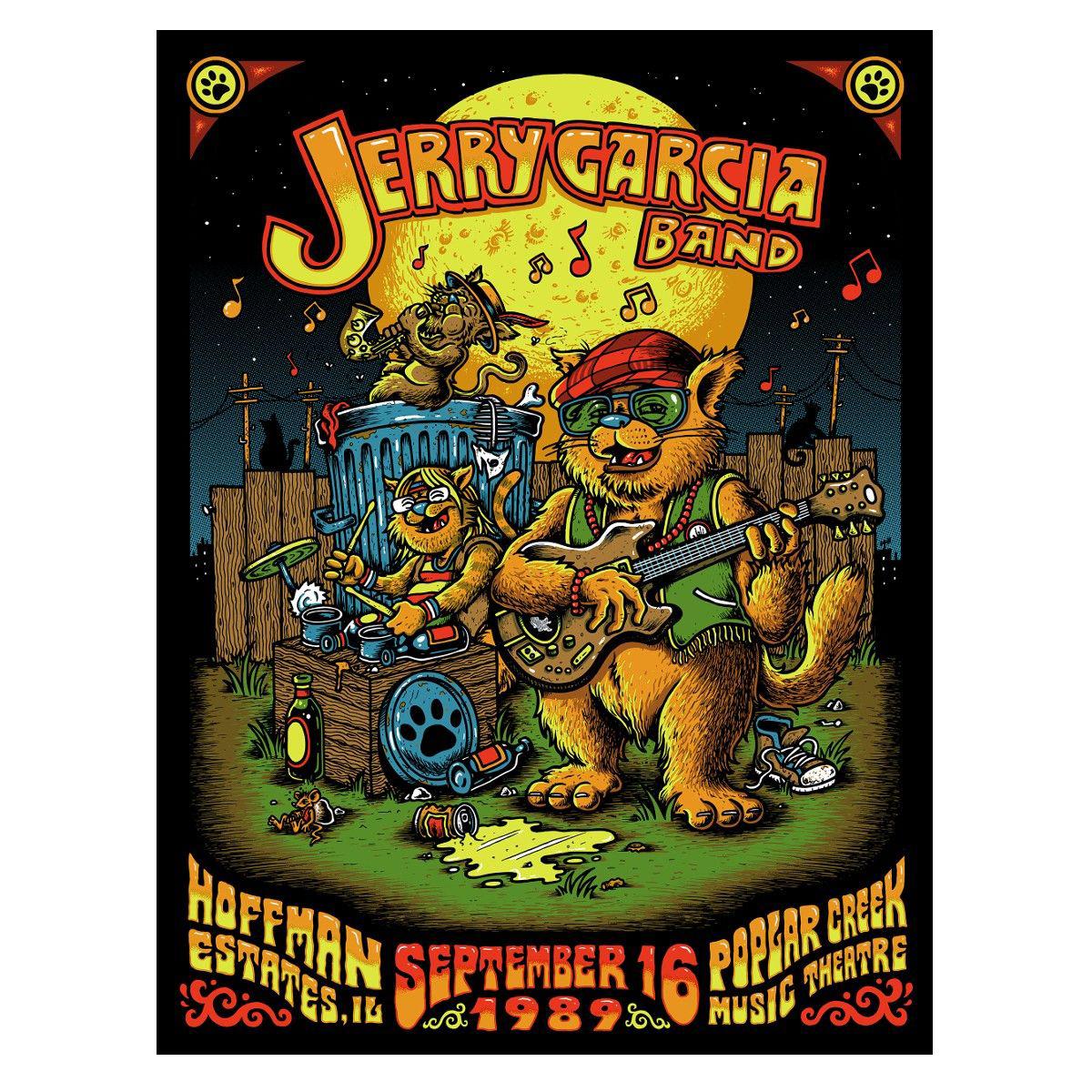 Jerry Garcia Band – GarciaLive Volume 13: 09/16/89 CD or Digital Download, Poster, & Organic T-Shirt Bundle