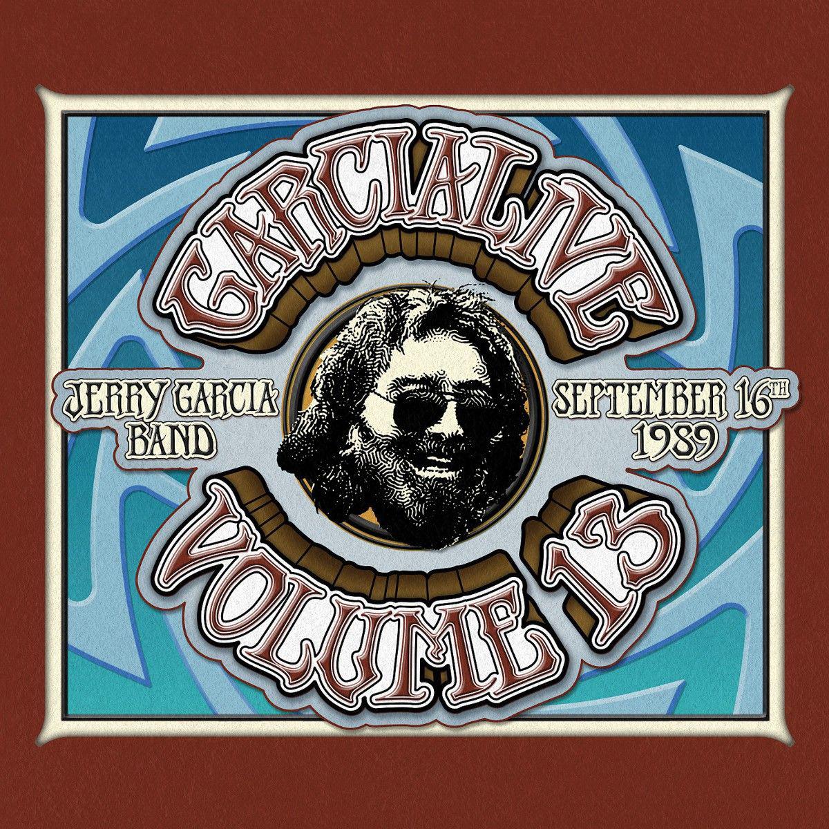 Jerry Garcia Band – GarciaLive Volume 13: 09/16/89 CD or Digital Download & Organic T-Shirt Bundle