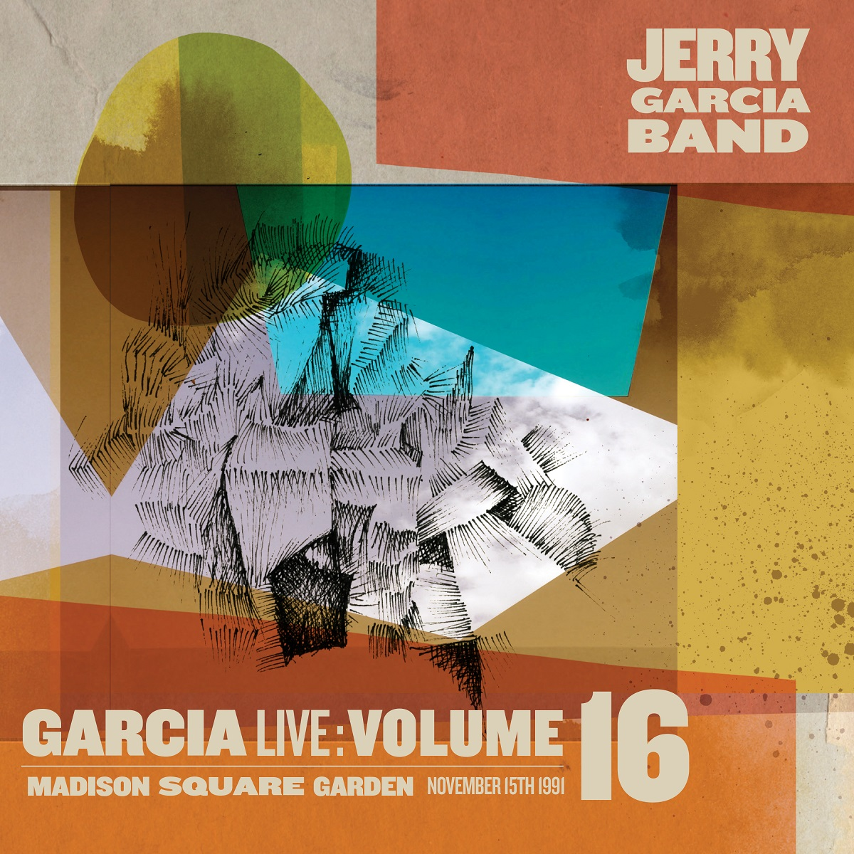 GarciaLive Volume 16: 11/15/91 3-CD Set or Digital Download, Poster, & Organic T-Shirt Bundle *SOLD OUT*