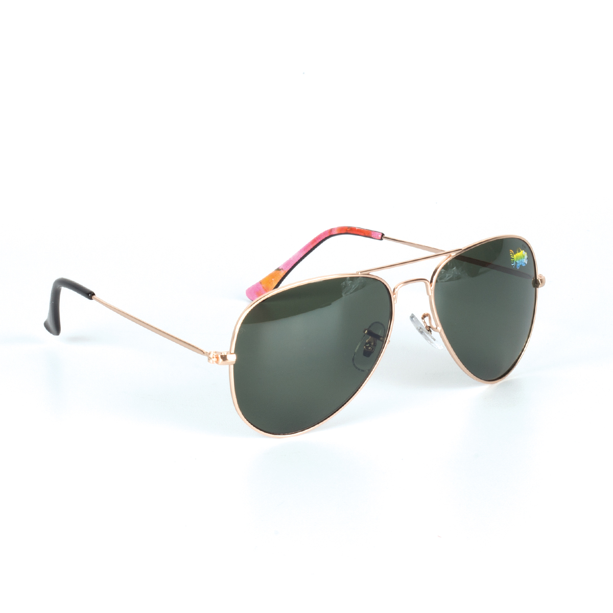 Fish Aviator Sunglasses with Case