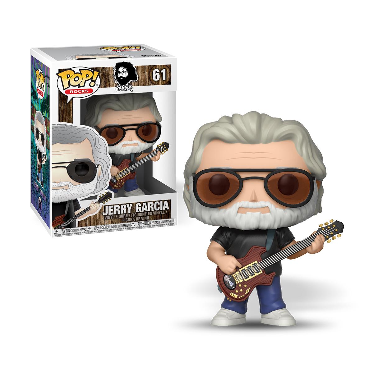 Jerry Garcia Funko Pop! Rocks Vinyl Figure