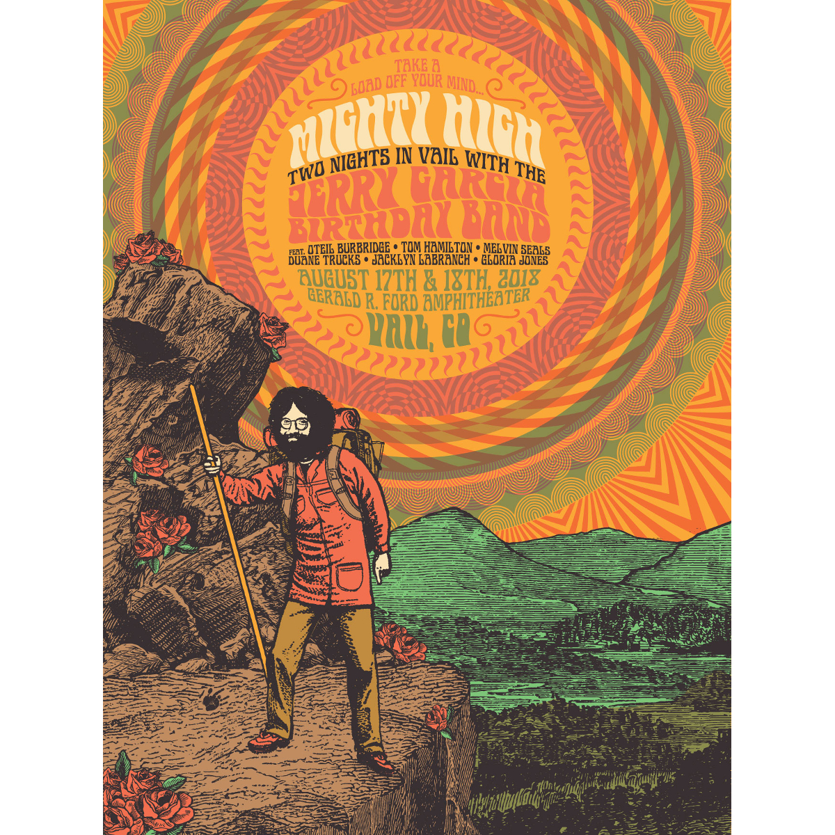 Mighty High Limited Edition Poster