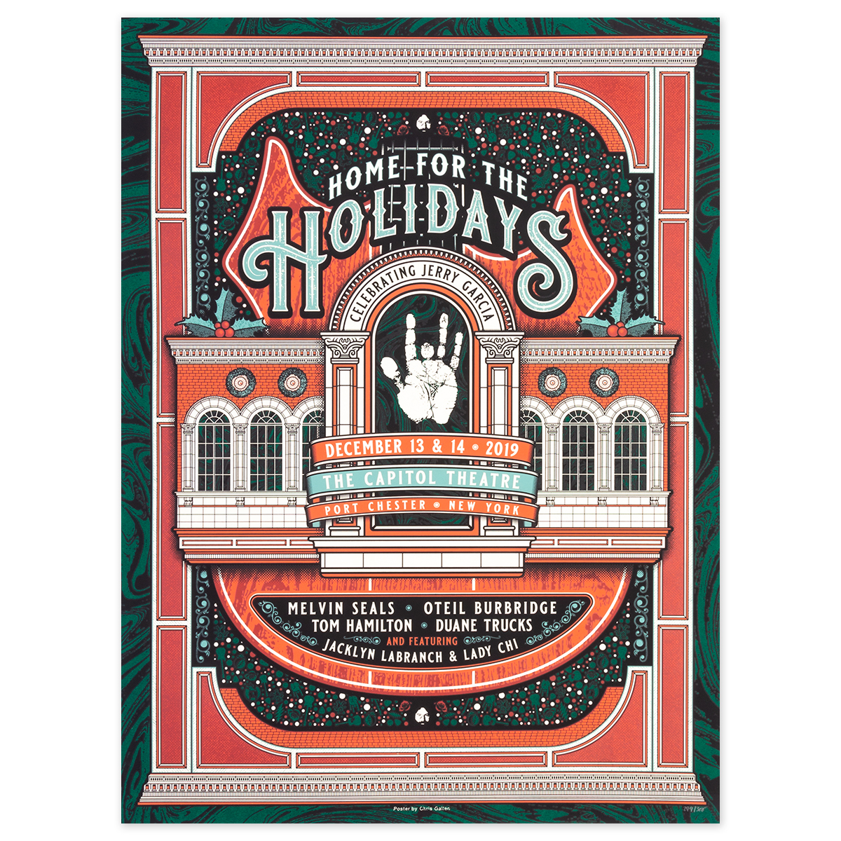 Home For The Holidays Event Poster