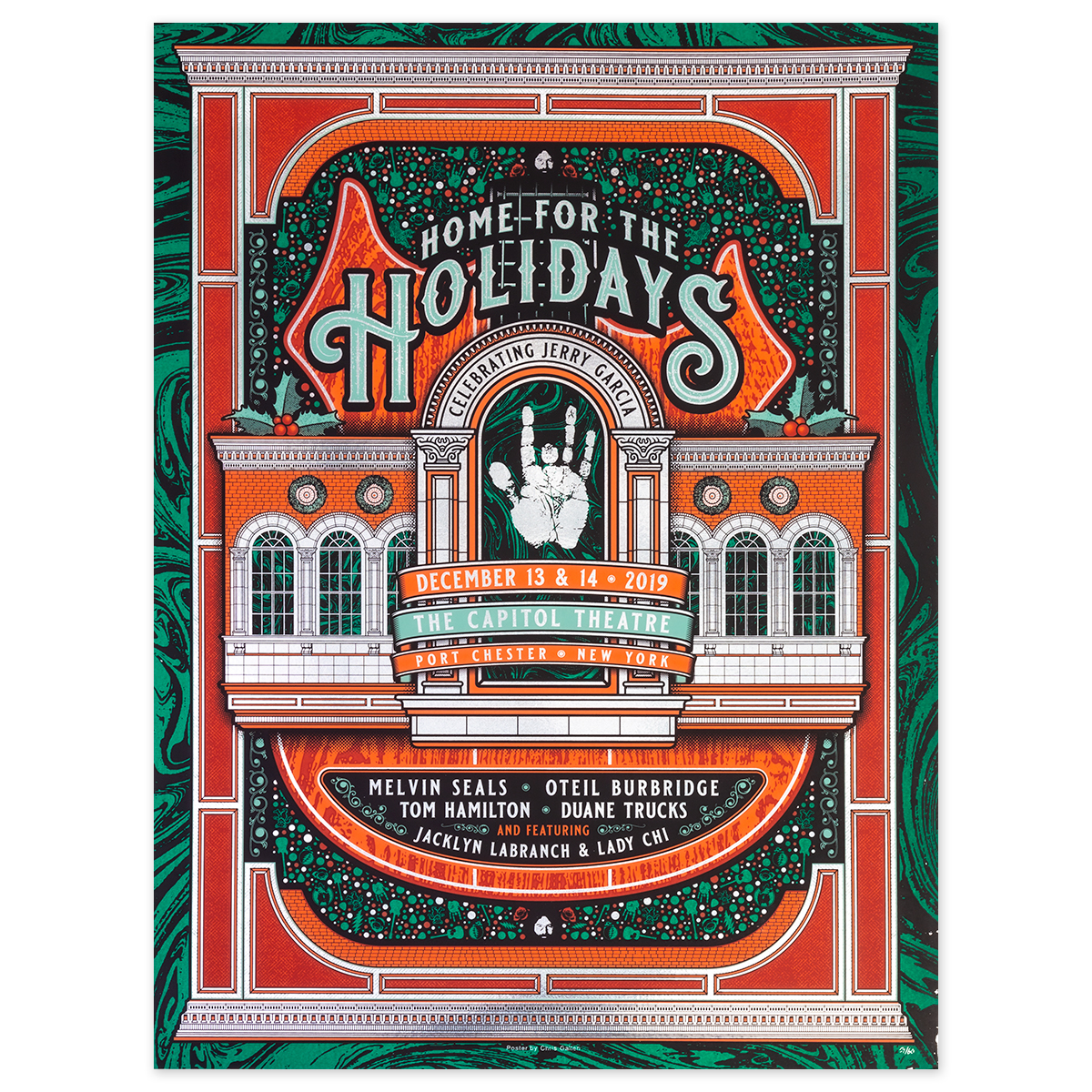 Home For The Holidays Foil Variant Event Poster